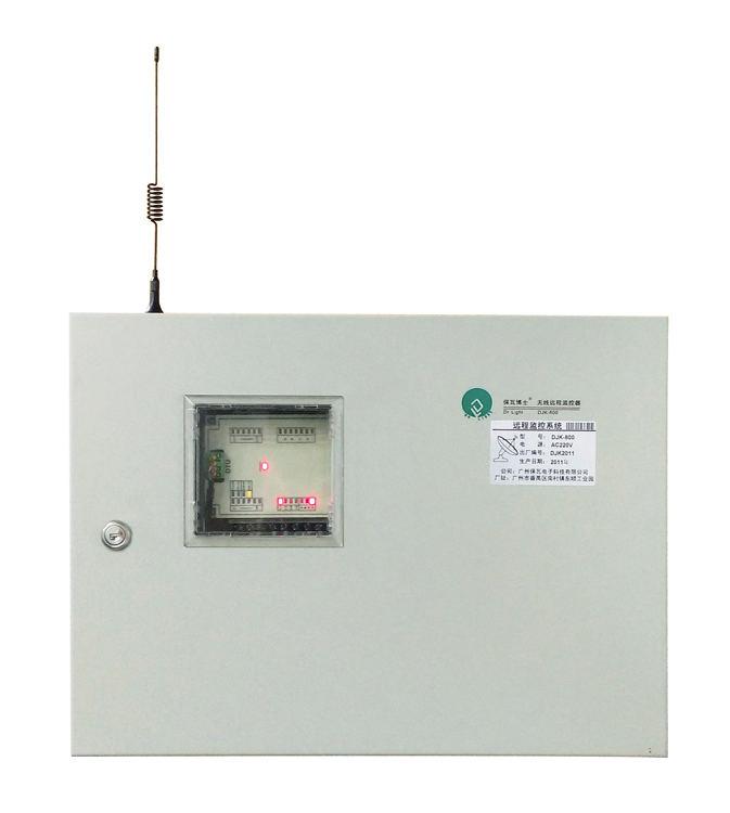 """产品概述 """"保瓦博士""""DJK-800路灯无线远程监控管理是我公司自主研发的,专门用于市政路灯集中监控系统的监测与控制设备。也可对操作界面做稍许变更,应用于通讯基站、电机控制等。 DJK-800路灯无线远程监控管理系统采用GPRS无线传输数据,不受距离限制,大大节约成本,而且通讯稳定,确保远程监视和控制的需要。具有极强的通信能力,具备自动网络数据传输中继能力,确保在照明控制所辖范围内通信畅通;通讯符合FCC、CENELEC、IndustryCanada、及JapaneseMPT标准"""