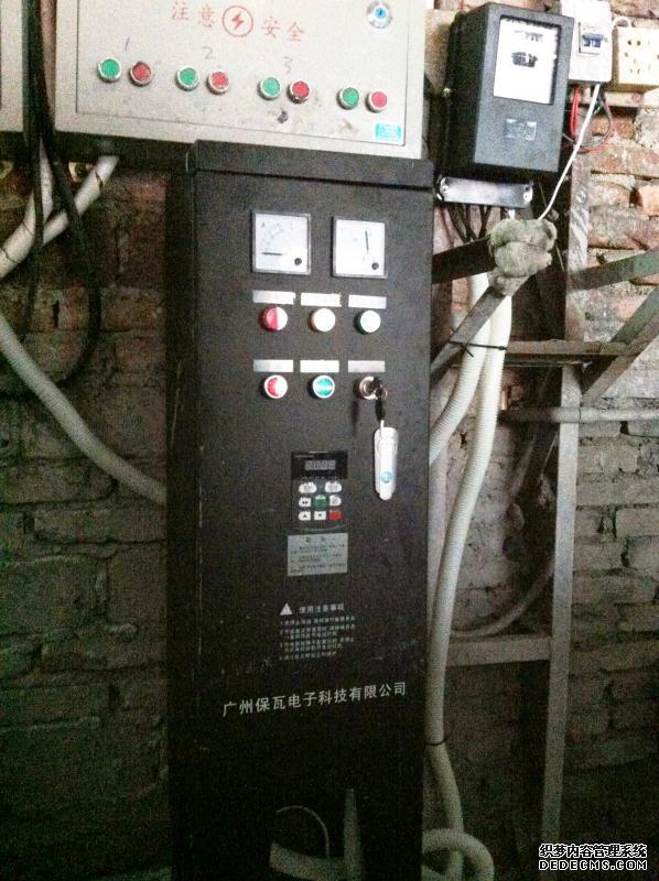 防尘型柱塞泵节电柜-潮州-变频节能改造案例